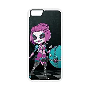 iPhone 6 plus 5.5 inch Cell Phone Case White Orianna league of legends Popular Games image KOL1345870