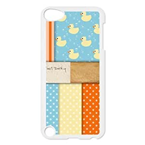 Custom Duck Design Plastic Case for Ipod Touch 5 5th Generation