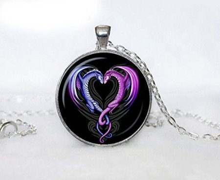 Amazon dragon heart necklace heart from dragon pendant dragon heart necklace heart from dragon pendant valentine day gift dragon heart pendant for men for mozeypictures Gallery