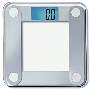 "EatSmart Precision Digital Bathroom Scale w/ Extra Large Lighted Display, 400 lb. Capacity and ""Step-On"" Technology [2016 VERSION] - 20,000+ Reviews EatSmart Guaranteed Accurate"