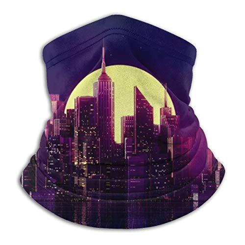 Neon Cityscape Men Women...