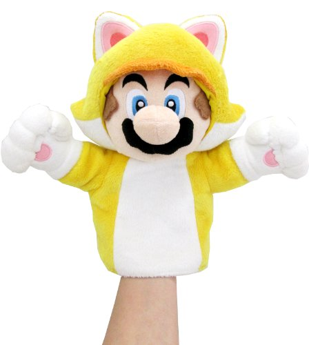 Super Mario World 3d Mario Cat Hand Puppet