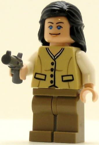 LEGO Indiana Jones Minifig Marion Ravenwood Tan Outfit