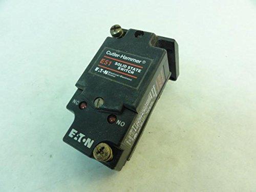 Eaton Cutler-Hammer Reflex-Reflective Photoelectric Sensor E51DP1 E51SCN E51RC - Cutler Hammer Photoelectric Sensor