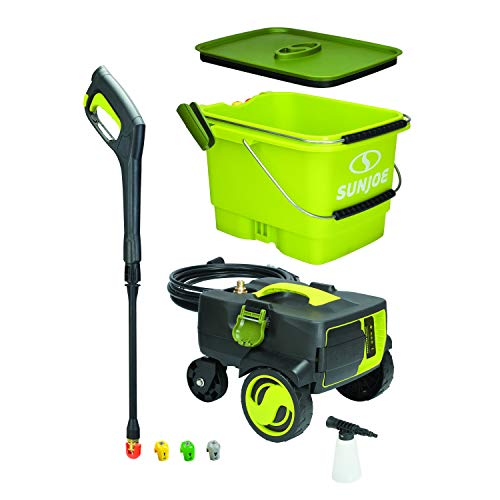 - Sun Joe SPX6001C-XR iON 40V 5.0-Amp 1160 PSI Max Cordless Pressure Washer, Green
