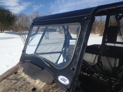 2016 Honda Pioneer 700 Laminated Glass Windshield with Wiper by EMP 12496