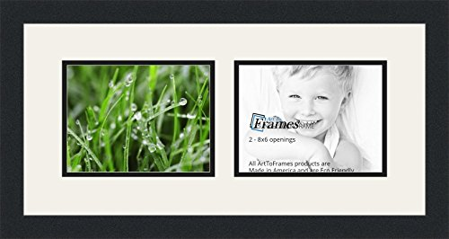 ArtToFrames Double-Multimat-779-61/89-FRBW26079 Collage P...