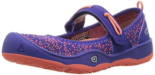 KEEN Unisex-Kids Moxie Mary Jane, Royal Blue/Fusion Coral, 3 Youth US Big Kid
