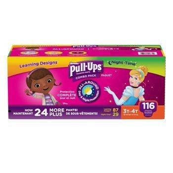 Kimberly-clark Huggies® Pull-Ups® Training Pants for Girl...