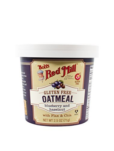 Bobs Red Mill Blueberry Hazelnut Oatmeal Cup, 2.5 Ounce - 12 per case. ()