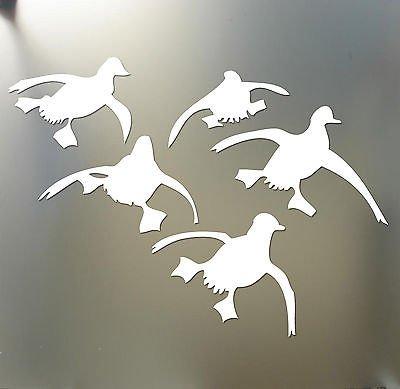 Flying Ducks Landing Hunting Decals sticker Waterfowl Dynasty Duck Commander ()