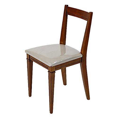 高級ホテル仕様 チェア 背もたれ付き 完成品 単品 ダイニングチェア デスクチェア 組立不要 チェアー 椅子 いす イス ラバーウッド 木製 5023 B01LZMVQ4Q