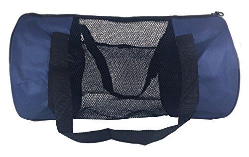 Axicore Snorkeling Scuba Diving Swimming 21 Inch Mesh Duffle Bag. Short Fin  Bag, Swimming Gear Bag. Features Side Mesh Pocket. Medium Size bag, Perfect  for ... b60162f085
