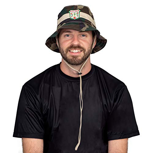 Caddyshack Carl Spackler Camo Bucket Hat