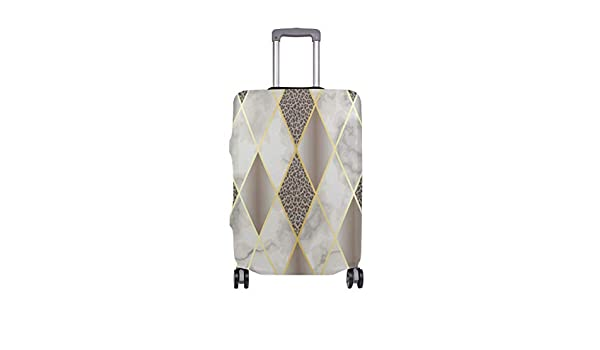 Hand Drawn Triangle Geometric Traveler Lightweight Rotating Luggage Protector Case Can Carry With You Can Expand Travel Bag Trolley Rolling Luggage Protector Case