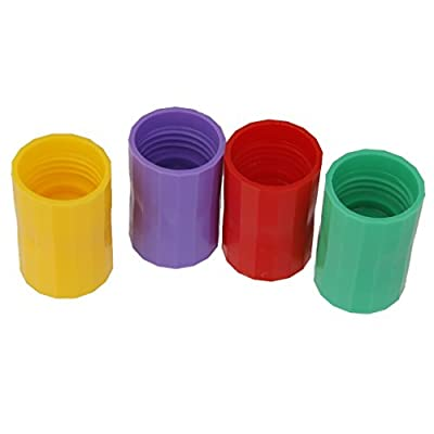 dailymall 2 Cyclone Tube Tornado Vortex Bottles Connectors Craft Water Kids Experiment: Toys & Games