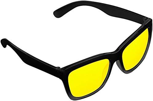 Pearl Nachtsichtbrille Auto Kontrastverstärkende Nachtsicht Brille Night Vision Im Retro Look Brille Nacht Auto