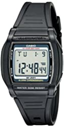 Casio Men's W201-1AV Chronograph Watch