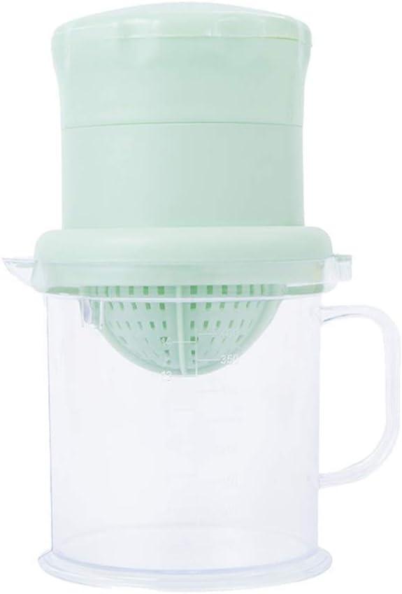 Manual de Rotación Juicer Juice Cup Mezclador de Frutas Mini Fruta ...