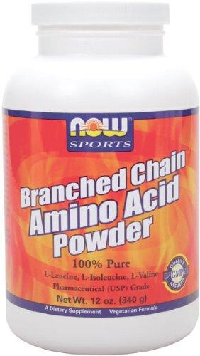 NOW Foods poudre Chain Amino Direction générale, 12 onces
