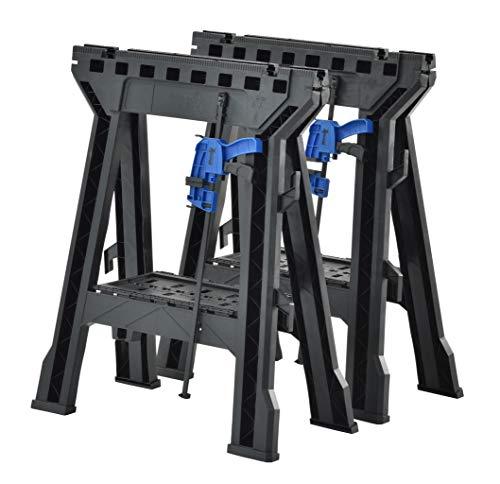Muscle Rack FSHL-2PK Heavy Duty Folding Sawhorses