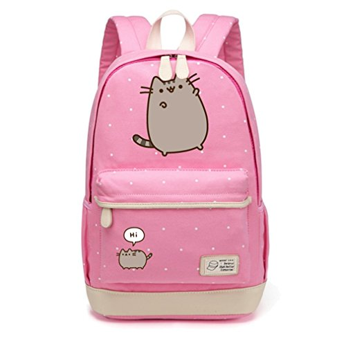 Voyage bandoulière à sac Sacs femmes Point Pink bandoulière Sac à filles Flower 1 scolaire à dos Wave sac pour à les dos adolescentes UWUnTa
