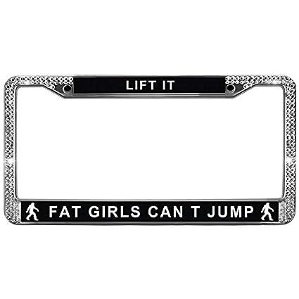 Amazon.com: Supers Digital Automotive Black License Plate Frame LIFT ...