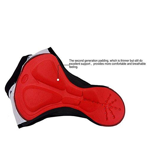 3D della di delle trade; intima striscia biancheria stile clathrate bicicletta stella clatrati Shorts Support E della imbottito Maze conforto bici donne 7XxEqv