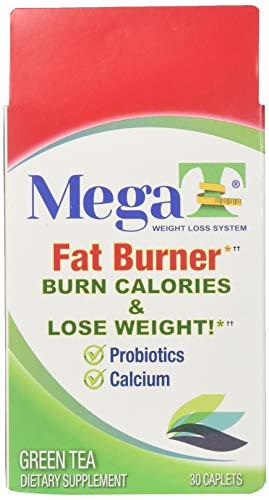 MEGA-T Green Tea Caplets with Probiotics and Calcium - 30 ()