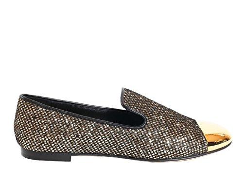 Giuseppe Zanotti Design Femme I56006002 Or Paillettes Mocassins