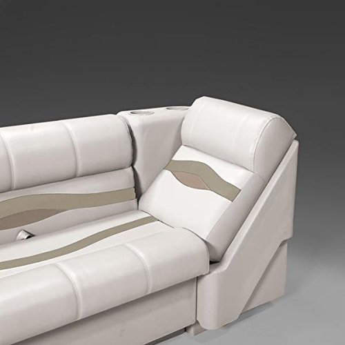 DeckMate Premium Left Pontoon Lean Back Seats (Pontoon Furniture)