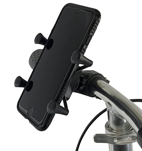 NEW KneeRover Universal Deluxe Phone Holder Mount Designed for Knee Walkers - Compatible with Most Smartphones