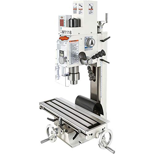 (Shop Fox M1116 Variable-Speed Mill/Drill with Digital)