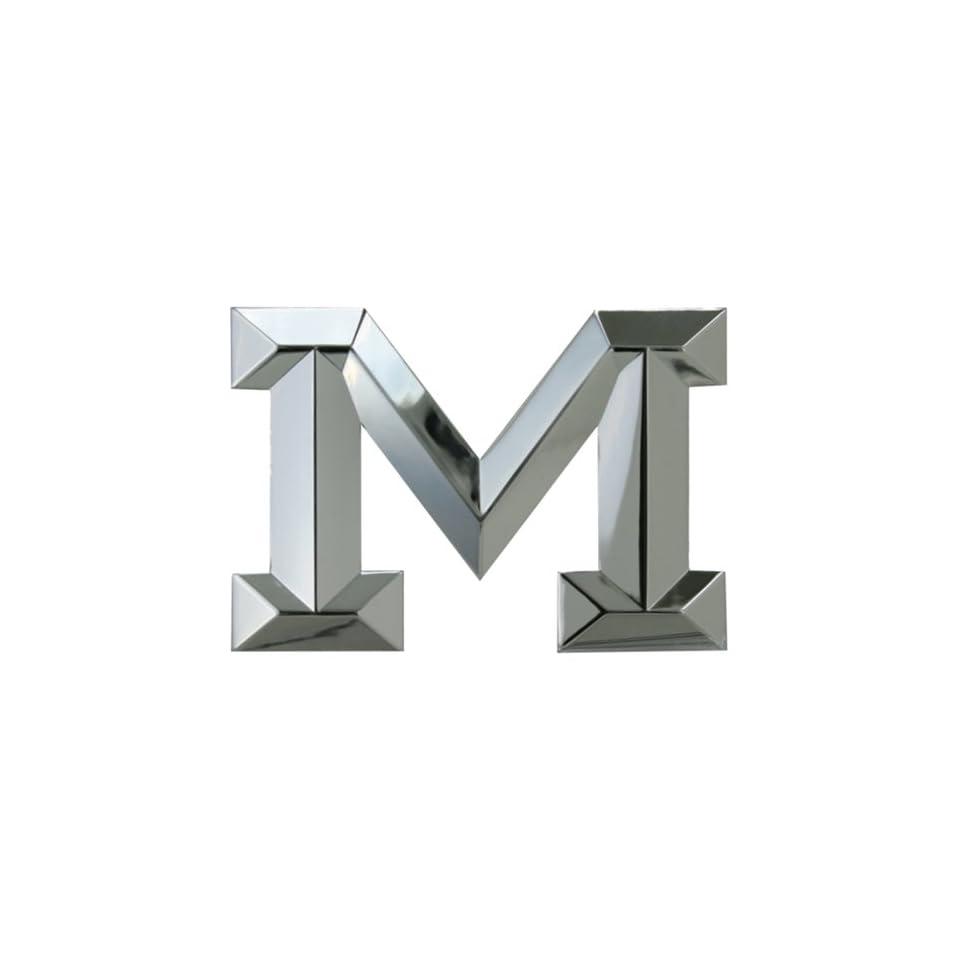 Car Auto Emblem   Classic   Letter M