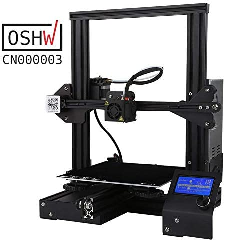 QLPP Impresora 3D, Bricolaje de Aluminio con impresión de ...