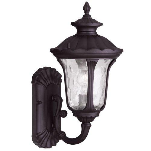 Livex Lighting 7850-07 Oxford 1 Light Outdoor Wall Lantern, Bronze