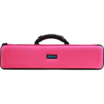 Cards Against Humanity Extra Long Hard Storage Case - Weather Resistant, Durable - Features Dividers For Organization, By Bluetech- Pink