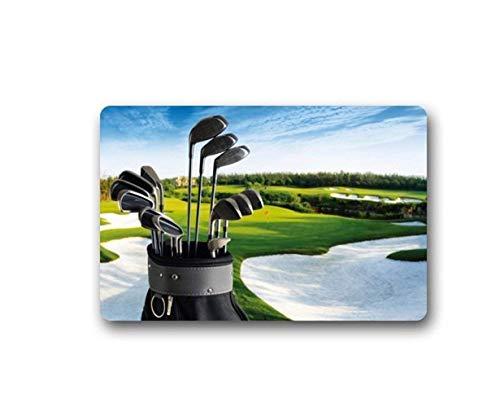 Golf Clubs Brassie Golfball Sport Doormats Entrance Mat Floor Mat (Brassie Golf Shoes)