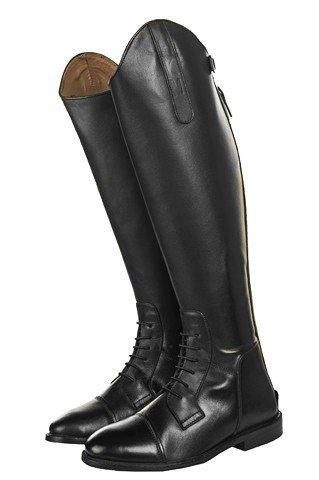 HKM-Botas de equitación Spain Soft Piel estándar de largo/ancho Marrón - marrón