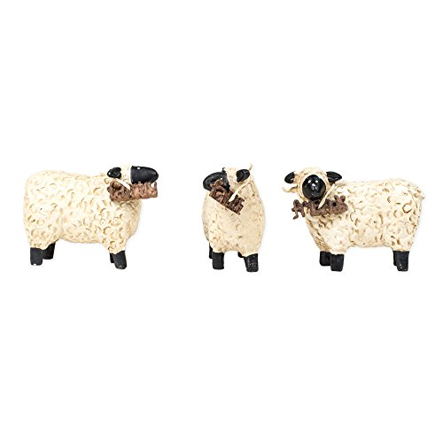 (Faith Family Friends Sheep 3 x 2 Resin Stone Figurines Set of 3)