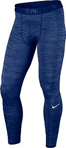 Nike Pro Cool Tight sz Large Deep Royal Blue/Obsidian/White Men's Casual Pants