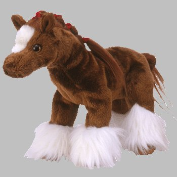 Image Unavailable. Image not available for. Color  Ty Beanie Babies Hoofer  the Clydesdale Horse 5d12364d611