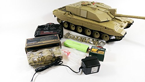 UPGRADED Heng Long Challenger 2 Radio Remote Controlled RC Tank 1/16 UK...