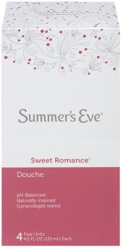 - Summer's Eve Douche | Sweet Romance | 4-4.5 Fluid Ounces Each | pH Balanced & Gynecologist Tested