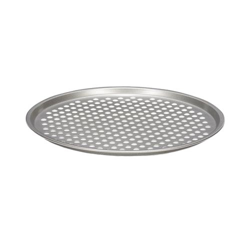 Patisse Nonstick Silver Top Crusty Pizza Tray, Silver Grey 03628