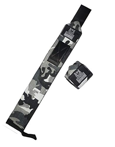 Warrior Powerlifting Gear Bande de Poignet 50 cm Pro Camouflage