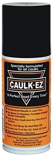 CAULK-EZ EZ-4 Caulk Spray Can with Nozzle Transparent 25 oz