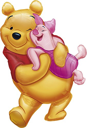 Anagram Disney Big Pooh Hug Shaped Foil ()