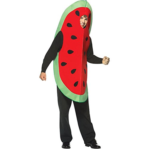 Rasta Imposta Adult's Watermelon Slice Halloween Costume (Size: Standard 44) for $<!--$34.99-->