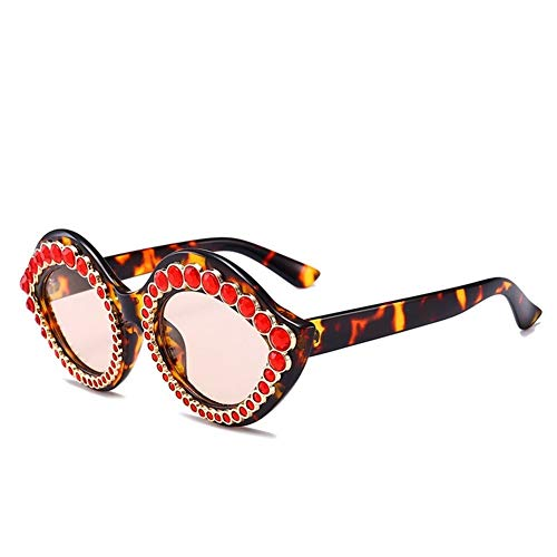 de lujo diamantes de Gafas de NIFG C de creativas sol sol gafas retro qZ4TUwx0w